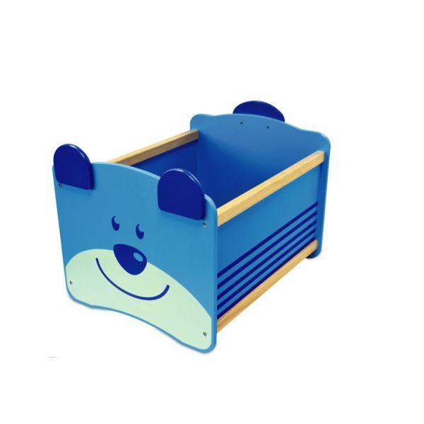 Ящик для хранения Медведь(синий) 41010im I'm toy