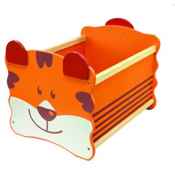 Ящик для хранения Тигр(оранжевый) 41020 I'm toy