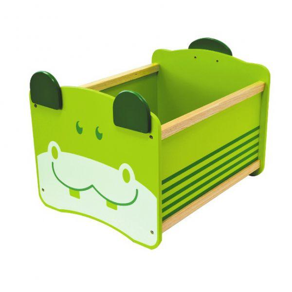 Ящик для хранения Бегемот(зелёный) 41030 I'm toy