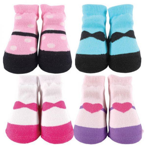 Комплект: носочки 4 пары 07139 Luvable Friends