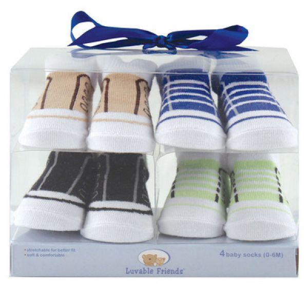 Комплект: носочки 4 пары 07139/1 Luvable Friends