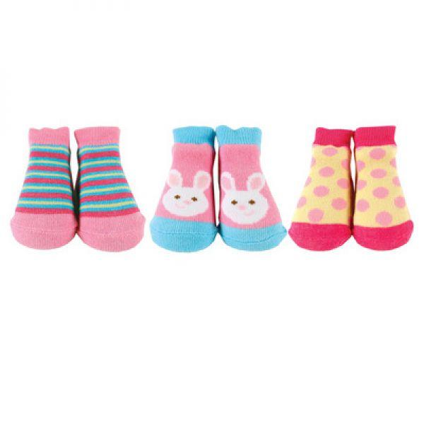 Комплект: носочки 3 пары 07136/1 Luvable Friends