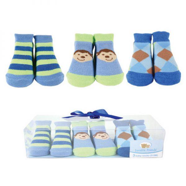 Комплект: носочки 3 пары 07136 Luvable Friends