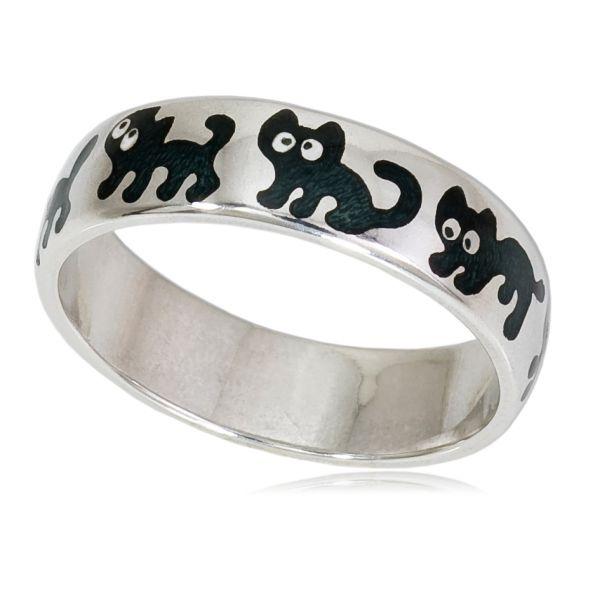 Кольцо «Забавные котята» 6.45/ч FiLLART
