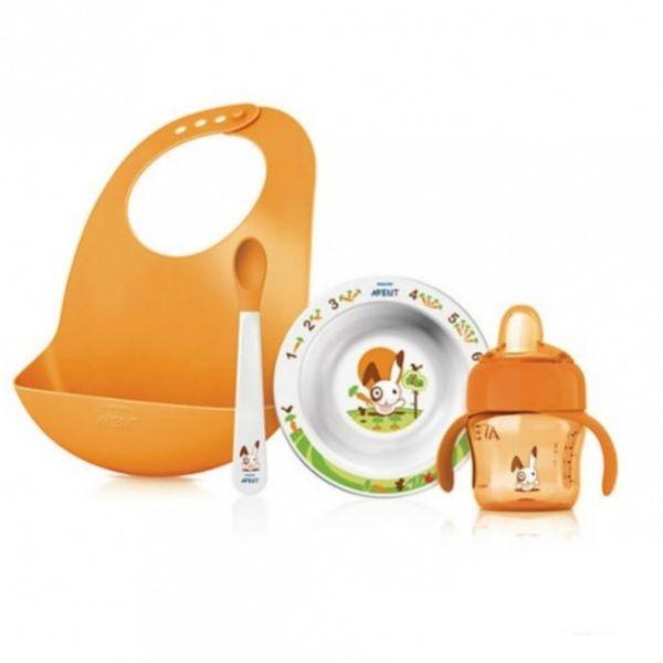 Набор посуды Philips AVENT SCF730/00 для введения прикорма 65730 AVENT