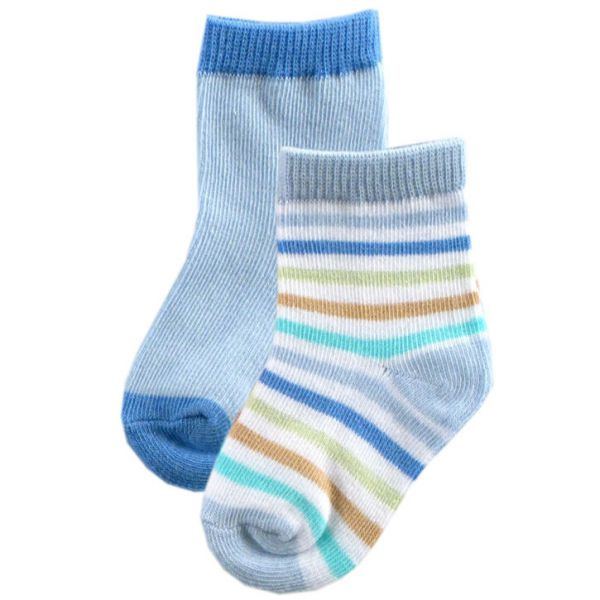 Носки (голубые)- 2 пары 22020/1 Luvable Friends
