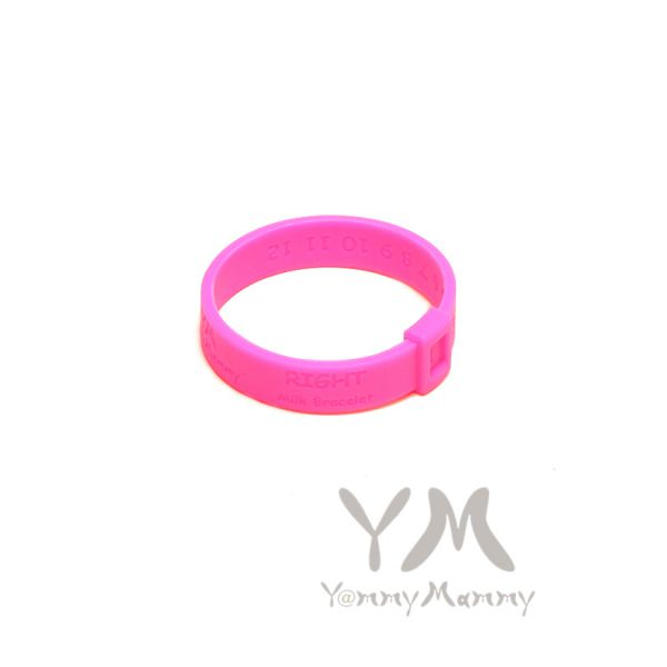 Молочный браслет розовый неон 403.0.8_s Y@mmyMammy
