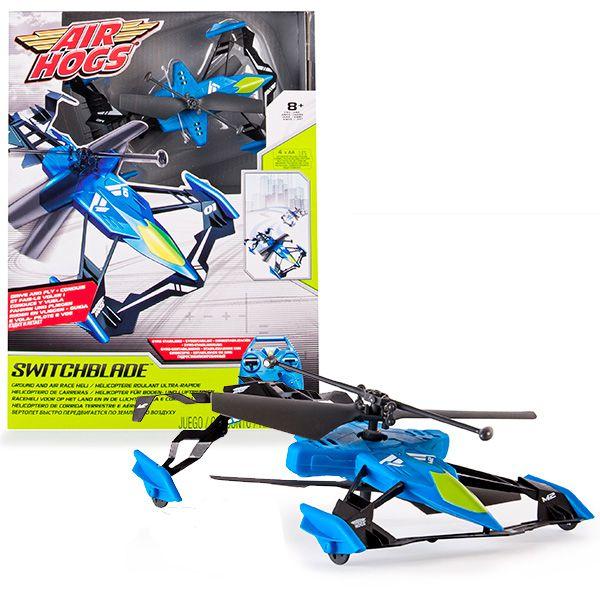 Airhogs 44587 Эйрхогс Вертолёт-лезвие (ездит и летает) 44587/2 AirHogs