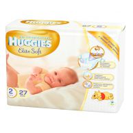 Подгузники Huggies Elite Soft 2, 4-7кг, 27шт.