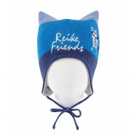 Шапка Reike Funny forest friends blue