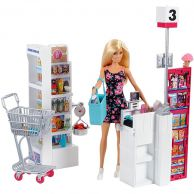 Mattel Barbie FRP01 Барби Супермаркет (в ассортименте)