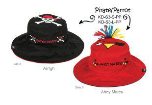 Панама Flapjackkids Пират/Попугай (Pirate/Parrot LUV0115M) М (2-4). Арт. 38500