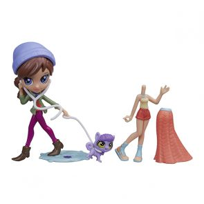 Littlest Pet Shop A8227 Литлс Пет Шоп Модница Блайс и зверюшка, в ассорт.