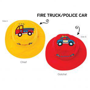 Панама Flapjackkids Пожарные/Полиция (Fire Truck/Police Car LUV0117M) М (2-4). Арт. 47500
