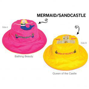 Панама Flapjackkids Русалка/Замок (Mermaid/Sandcastle LUV0107M) М (2-4). Арт. 39500