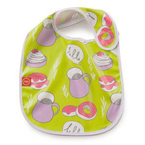 Нагрудник Happy Baby на липучке WATERPROOF BABY BIB Арт. 16009N Lime