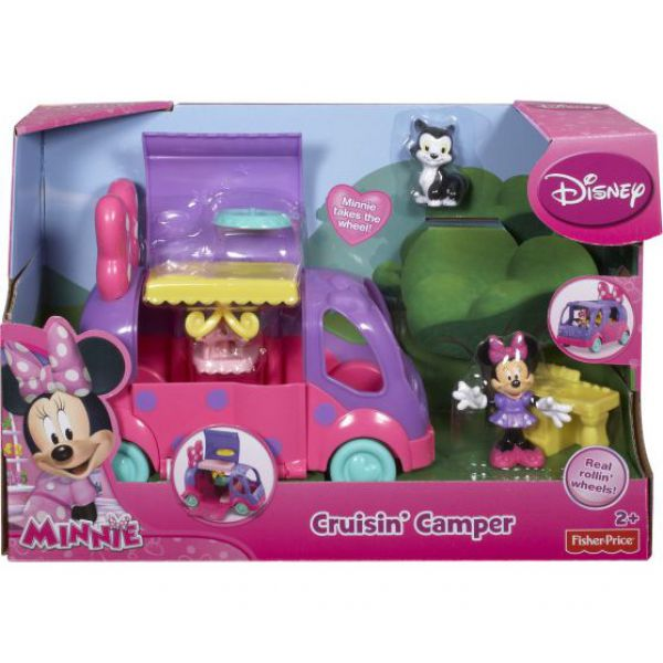 Модель CCY48 Машинки Минни  Minnie Mouse 1136529 Minnie Mouse (MATTEL )