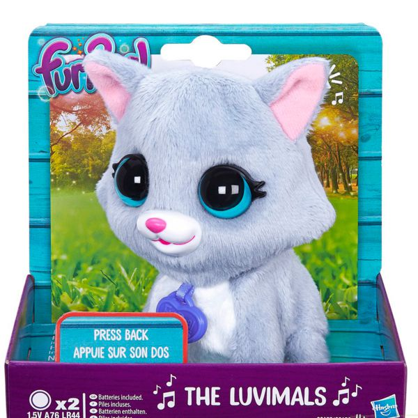 Furreal Friends C2173 Поющие зверята (Котик) C2173/4 Fur Real Friends (Hasbro)