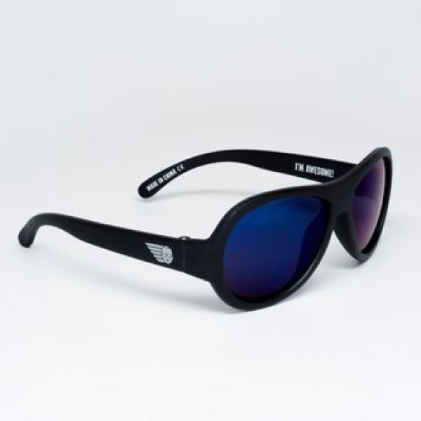 С/з очки Babiators Polarized. Чёрный спецназ (Black Ops). Classic (3-5). Арт. BAB-050 BAB-050 Babiators