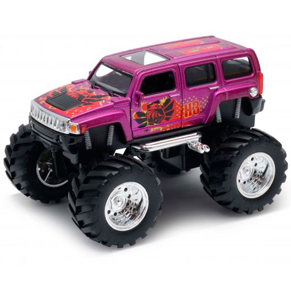 Welly 47001S Велли Модель машины 1:34-39 Hummer H3 Big Wheel Monster 47001S WELLY
