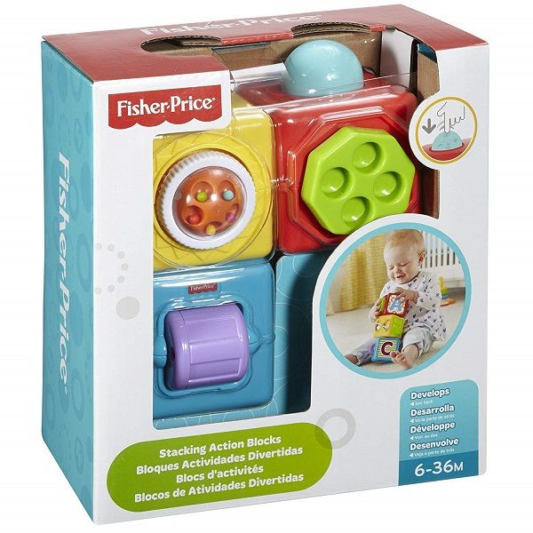 Mattel Fisher-Price DHW15 Фишер Прайс Набор кубиков DHW15 Fisher Price (MATTEL)