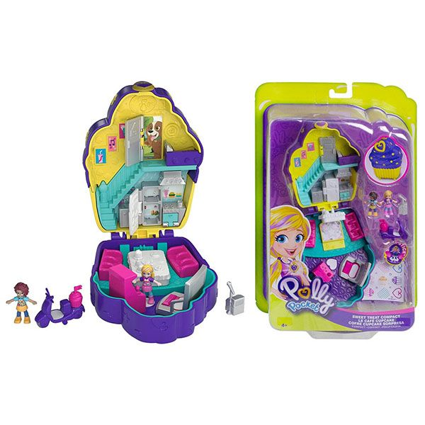 Mattel Polly Pocket FRY35 Игровой набор'Мир Полли' FRY35/4 MATTEL Polly Pocket