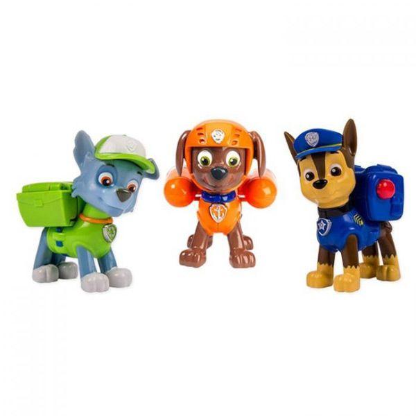 Щенячий патруль набор из 3 щенков с рюкзаком-трансформером где в молодечно можно купить рюкзак